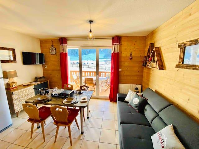 Superbe appartement, calme, balcon, proche centre
