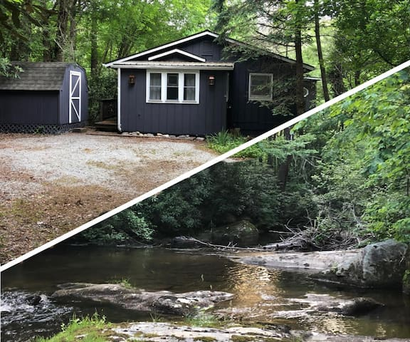Cottage in the Mountains; Stream Side Living