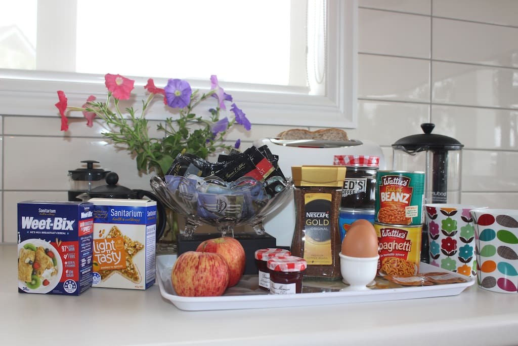 Kiwi breakfast