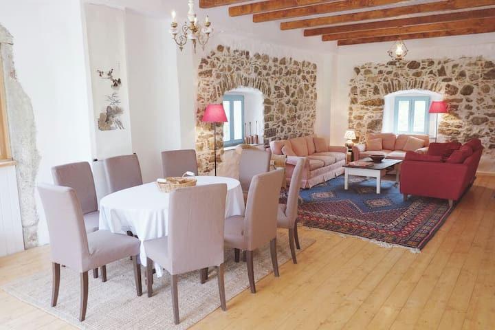 Farmhouse with Amazing views of the Soca Valley
