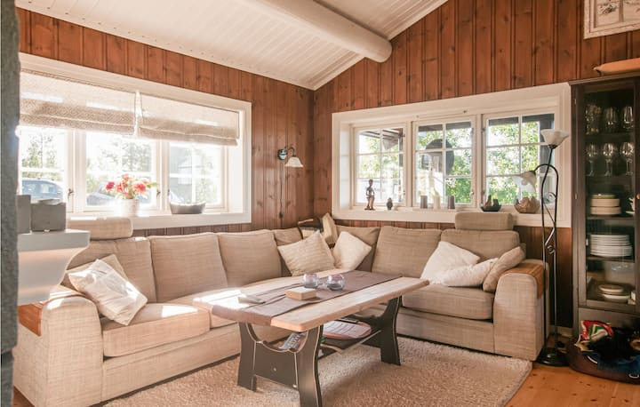 Amazing home in Rena with Sauna and 4 Bedrooms
