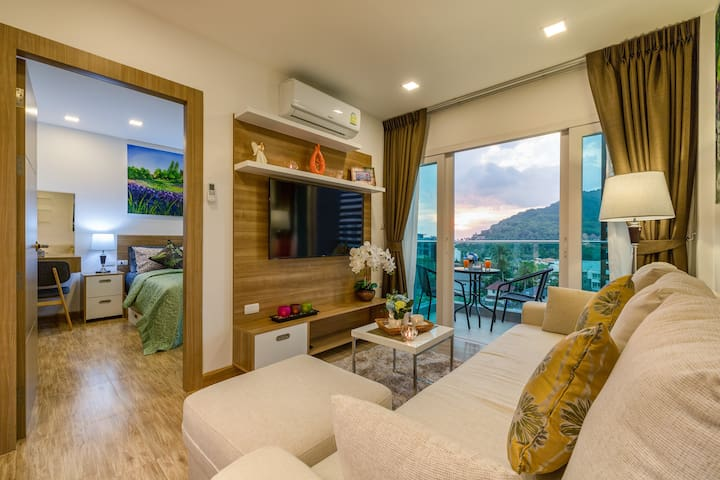 Amazing 1 Bedroom Apartment on 8th Floor @Nai Harn