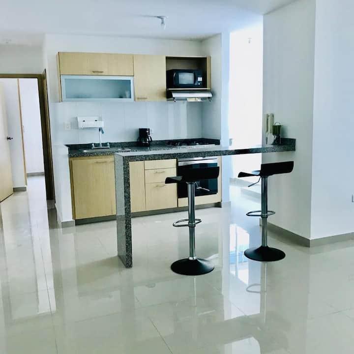 Lindo y cómodo apartamento, excelente ubicación