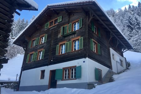 Traditional Swiss House in Nature - Tavanasa - Casa