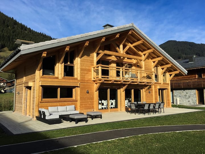 chalet cret beni 14 persons with swimming pool