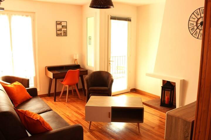 Appartement T3 centre ville Royan avec parking