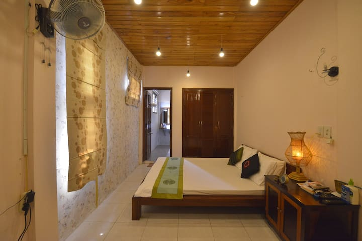The room is 23 m2 that gives you comfortable staying