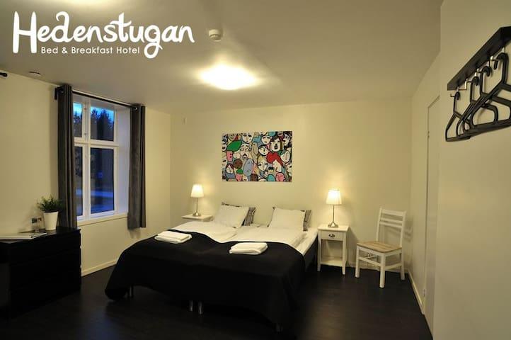 Hedenstugan B&B Hotel - Familyroom (4 pers.)