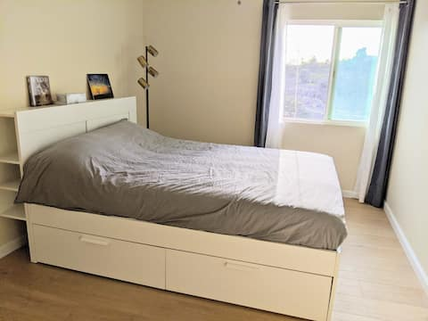 Spacious Sunny Room with Private Bathroom