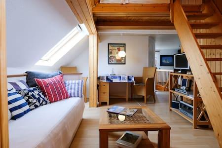Süße Dachwohnung mit Atmosphäre - Apartemen