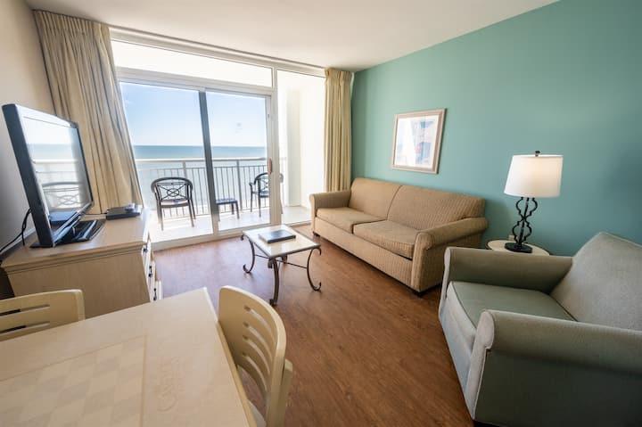 ❤️ Honeymoon Suite,Direct Oceanfront,Heated Pool