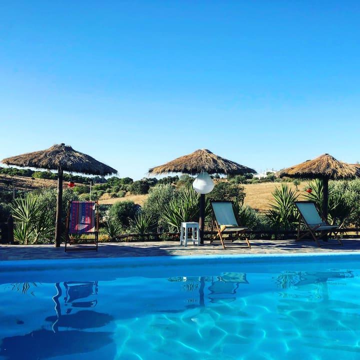 A Casa do Baldio - Casa com piscina em Monsaraz