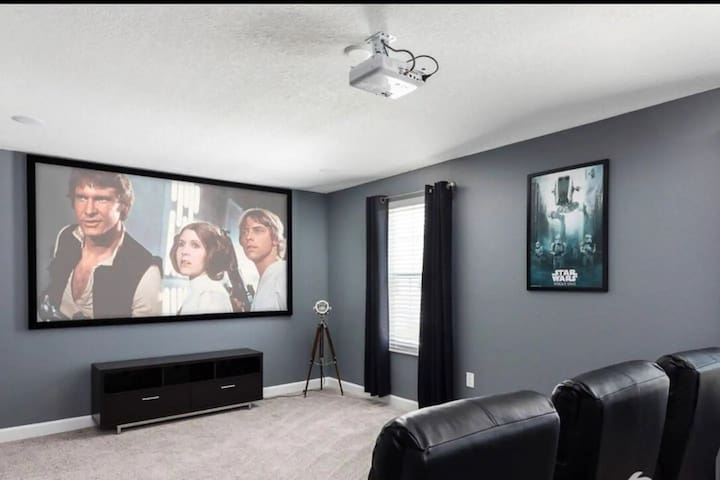 Sanitized Champions Gate Luxury 8 Bedrooms Movie Theater Room And Private Pool Houses For Rent In Davenport Florida United States