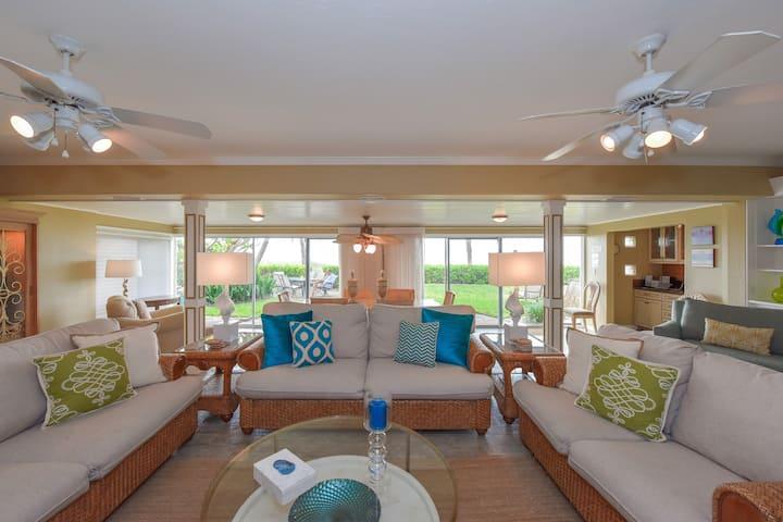 Zilli Villa, a 2,000 sf home right on the beach.