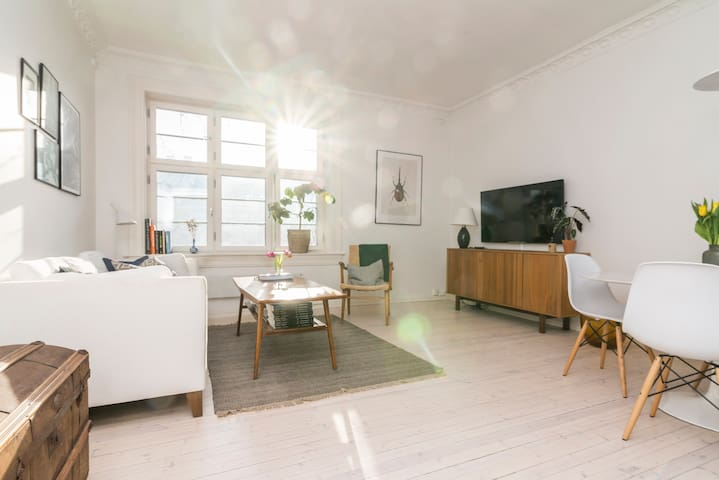 Beautiful and classic apartment in central Oslo