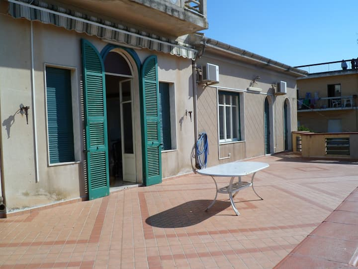 The most beautiful terrace on Mediterranian Sea