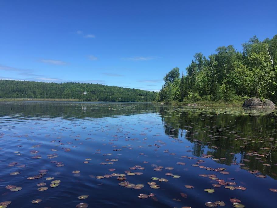 Le lac Désert.