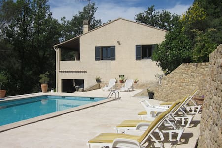 Luxury private villa with pool in Provence - Saint-Antonin-du-Var - Huvila