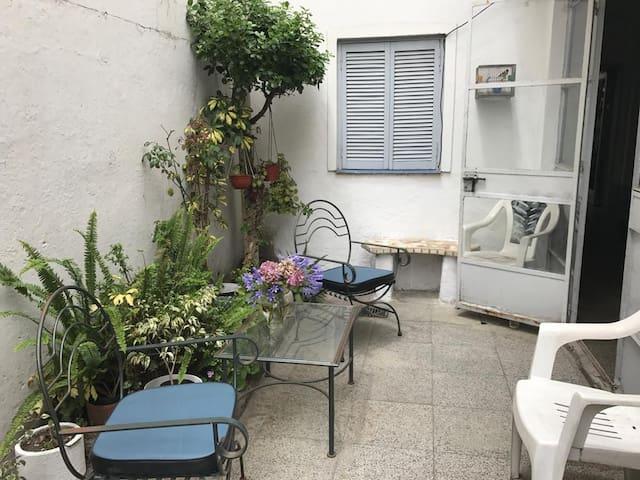 Habitación para 2 o 3 personas con baño privado
