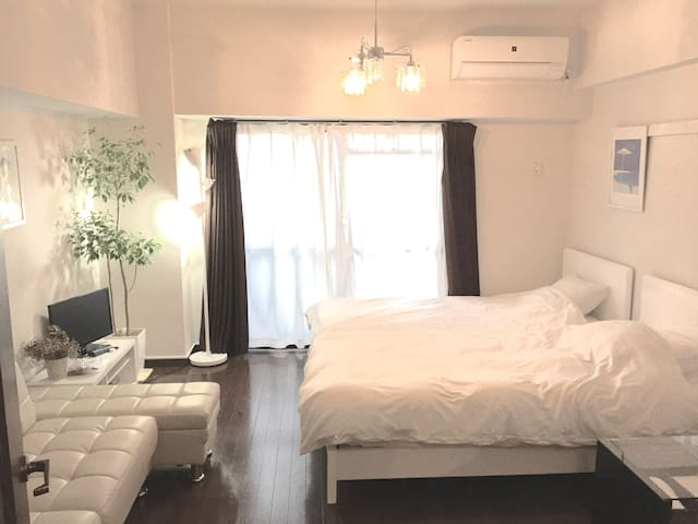 5min from Hakata station+Free wifi - Fukuoka