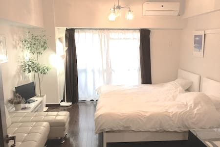 5min from Hakata station+Free wifi - Fukuoka - Daire