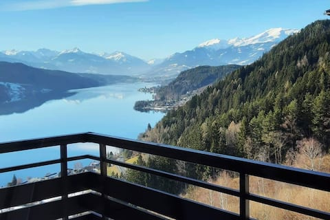 Panoramic views over the Millstättersee.