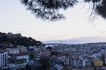 View from the Miradouro 5 minutes away from the guesthouse.