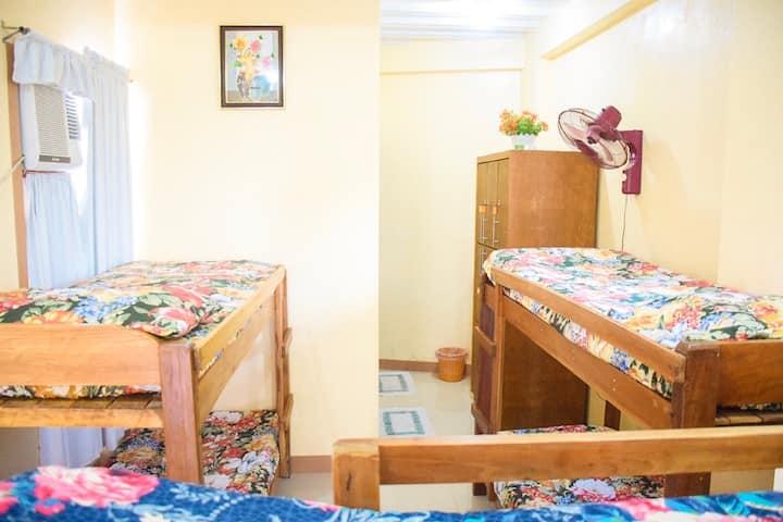 Iloilo Room #3 for max.6pax Bed+Bath