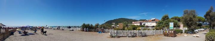 Appartamento sul mare a Fiumaretta