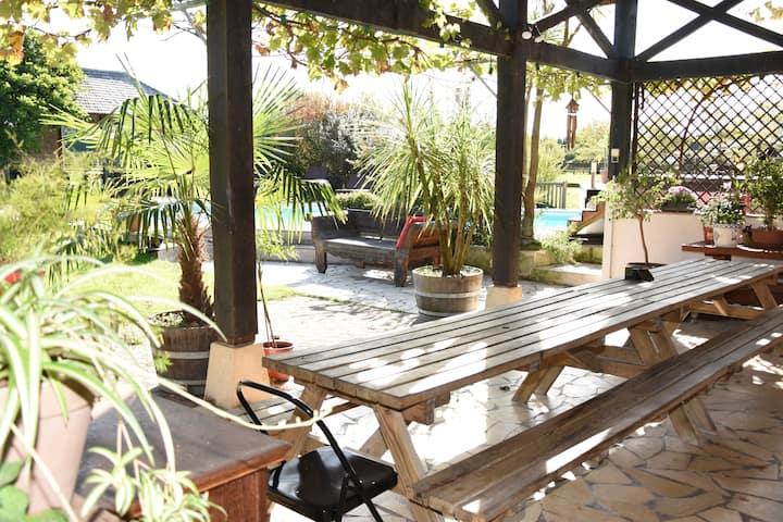 Chambres Pipe - Ulu Gîte Bali proche Hossegor