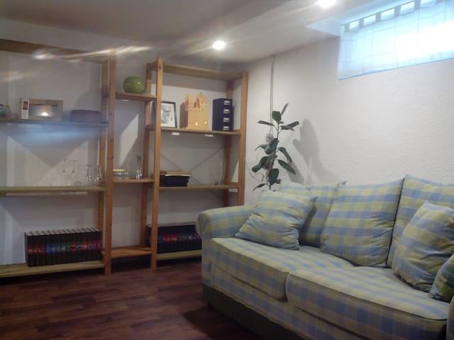 Gemütliche Wohnung im Souterrain - Lotte - Daire