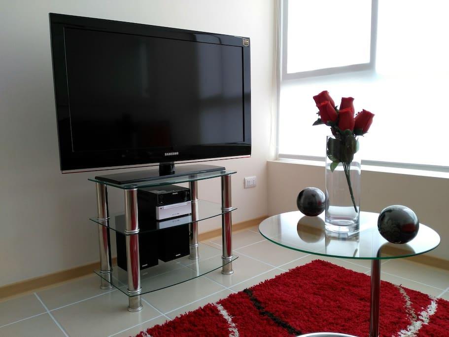 Televisor LCD , Equipo de musica