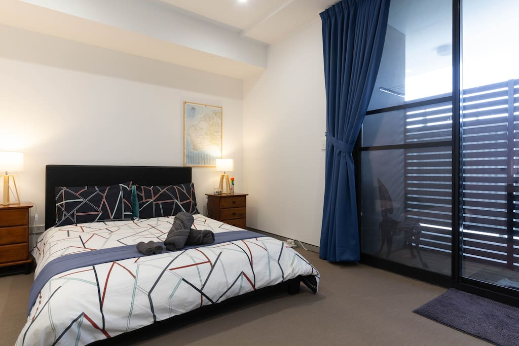 Cosy and comfortable, fully air-conditioned bedroom with clean linens provided.