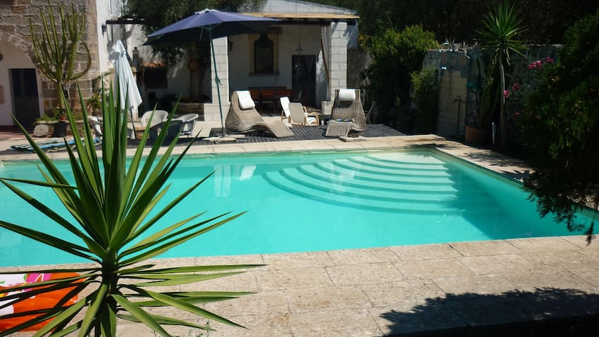 Lovely Poolside Farmhouse - Province of Lecce - Villa