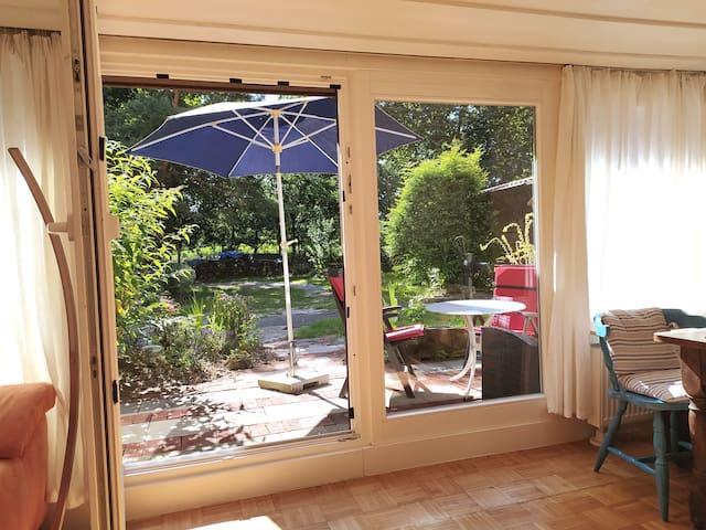 Studio in atmosphärischem Künstler-/ Fachwerkhaus