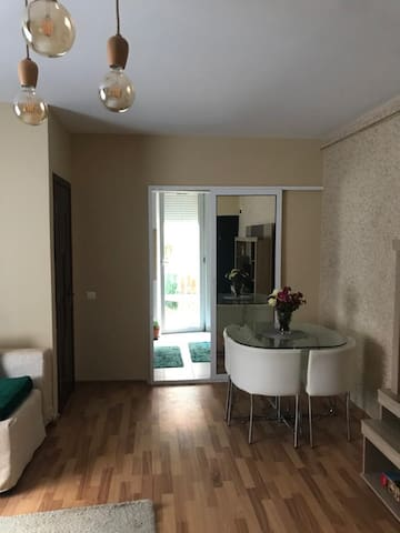 Spacious place with garden for 2 Guests/subway