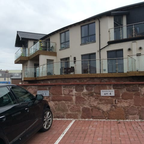 Apartment overlooking Marina in Arbroath - Arbroath - Apartment