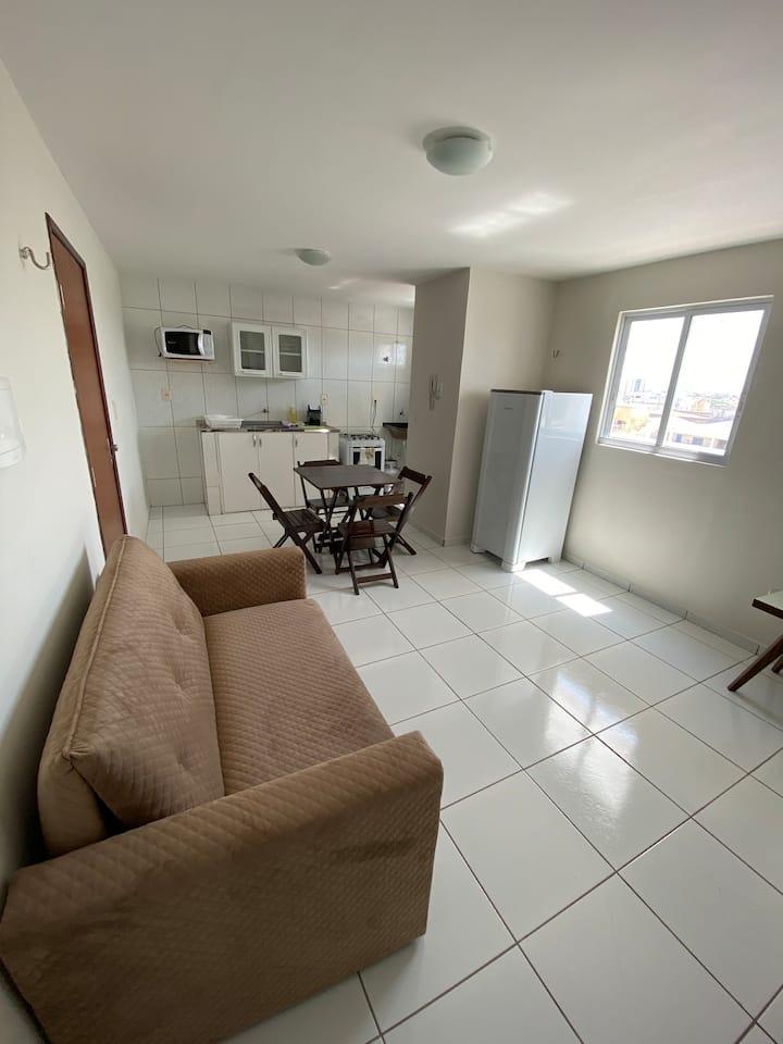 Apartamento super confortável e bem localizado. 😍