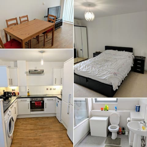 Spacious 1 bedroom flat, close to everything