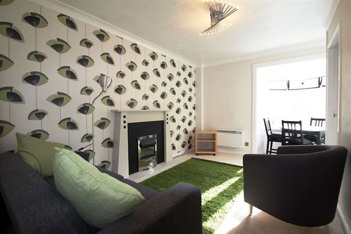 Cosy flat close to city centre with parking space - Glasgow - Casa