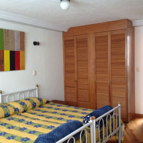 Independent studio with private bathroom Coyoacan.