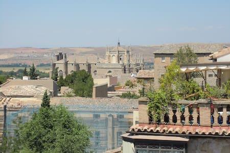 Fantástico Torreón con vistas  a Toledo. - Toledo - Kondominium