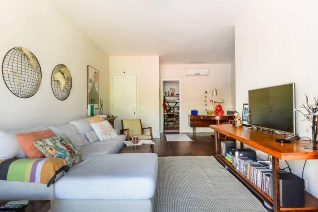 Sala - sofá confortável