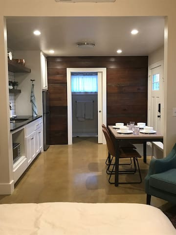 Unique studio apartment priced for long-term stays