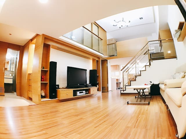 (A2-4)Warm apartment, 4 bedrooms close Taipei 101 - 信義區 - Διαμέρισμα