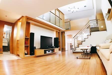 (A2-4)Warm apartment, 4 bedrooms close Taipei 101 - 信義區 - Lägenhet
