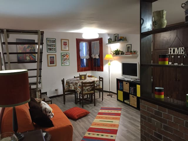Lovely furnished mini-flat - Pietracamela - Leilighet