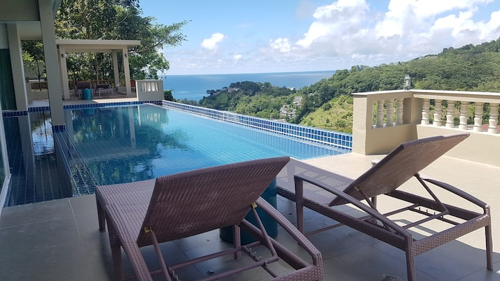 High Luxury Panoramic Sea View 4 bedroom Villa