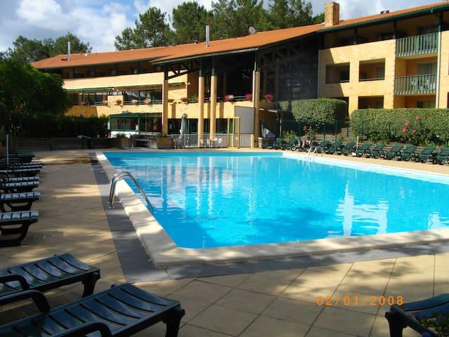 T3 dans résidence avec piscine et loisirs