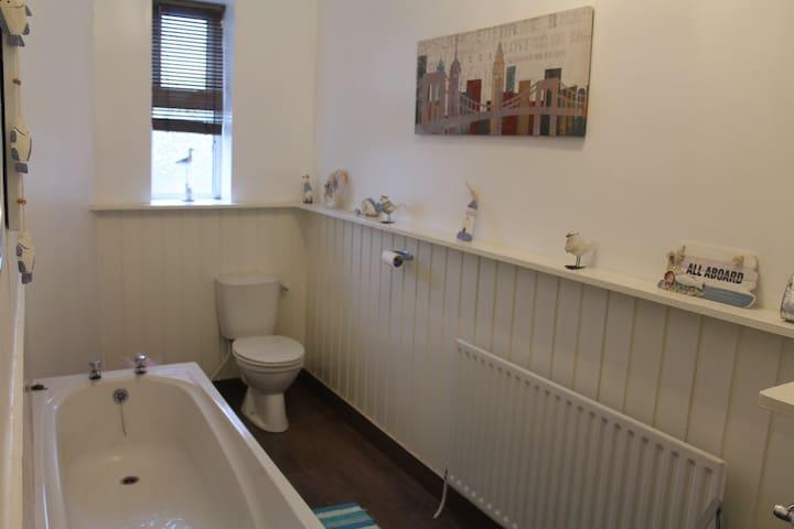 Shared house bathroom